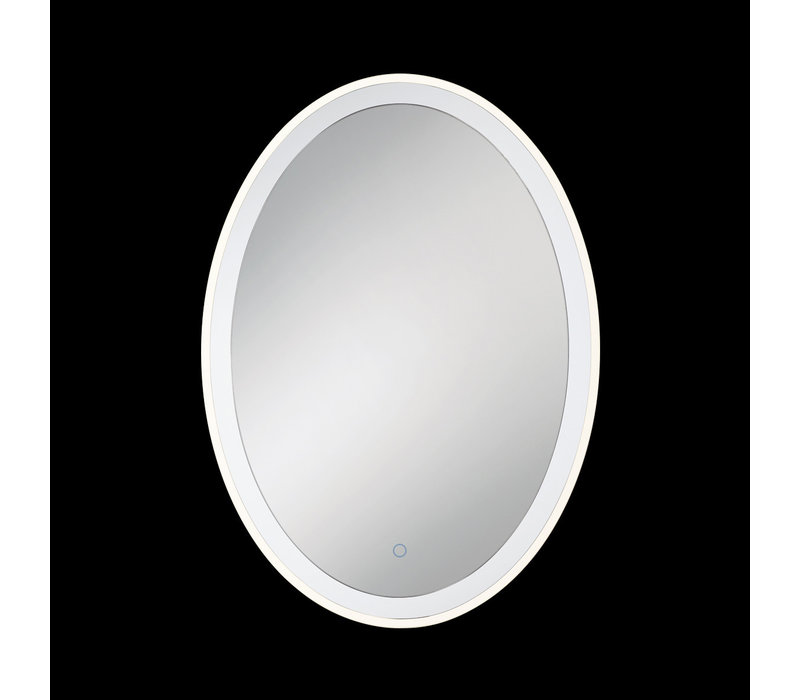 Eurofase - Oval Edge-lit Mirror - Clear