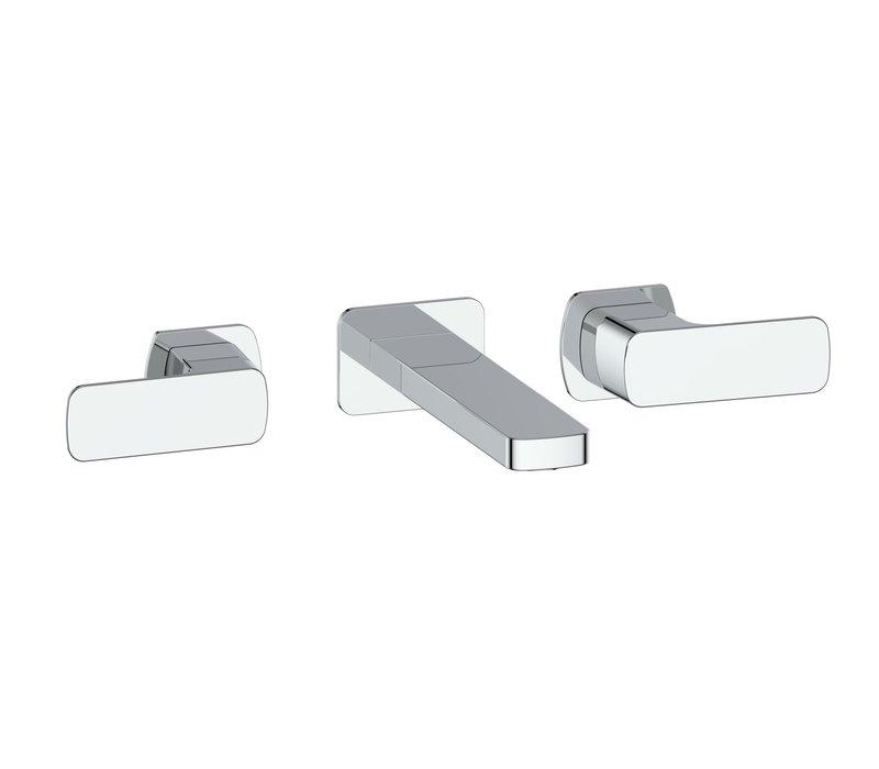 Vogt - Niveau - Widespread wallmount faucet