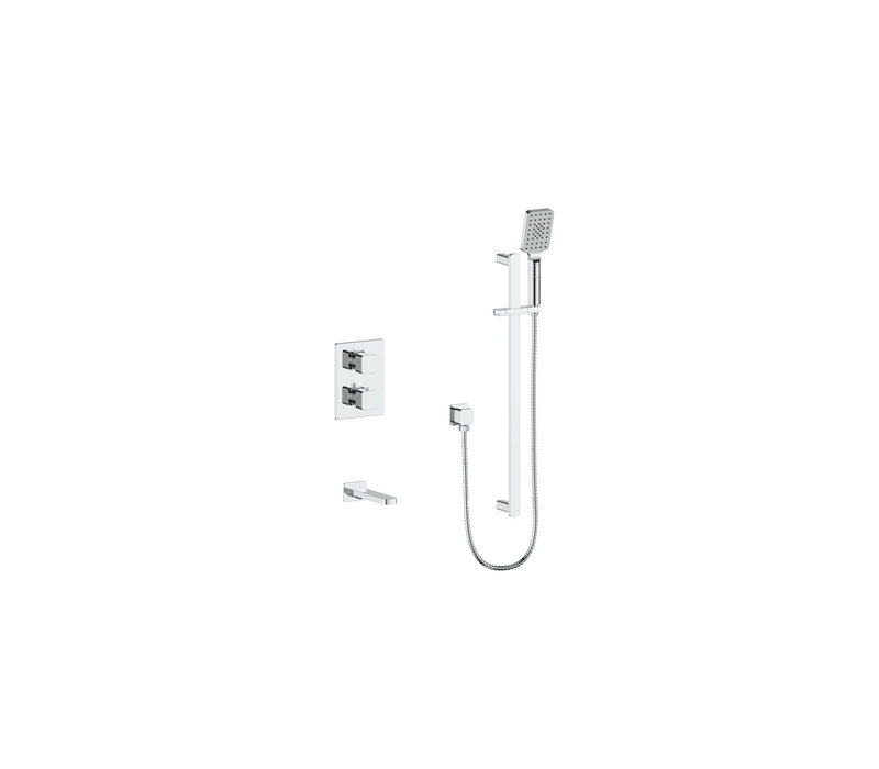 Vogt - Niveau - Two-way tub shower system