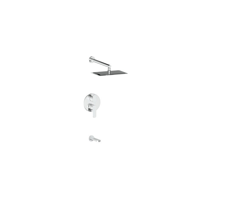 Vogt - Lusten - Two-way pressure balance tub shower system