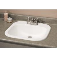 Cheviot - IBIZA Drop-In Sink - 1108-WH-4
