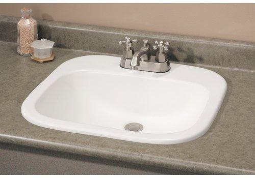 Cheviot Cheviot - IBIZA Drop-In Sink - 1108-WH-4