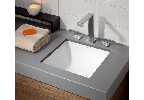 Cheviot Cheviot - SQUARE Drop-In/Undermount Sink - 1179-WH