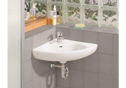 Cheviot Cheviot - WALL MOUNT Corner Sink - 1350-WH-1