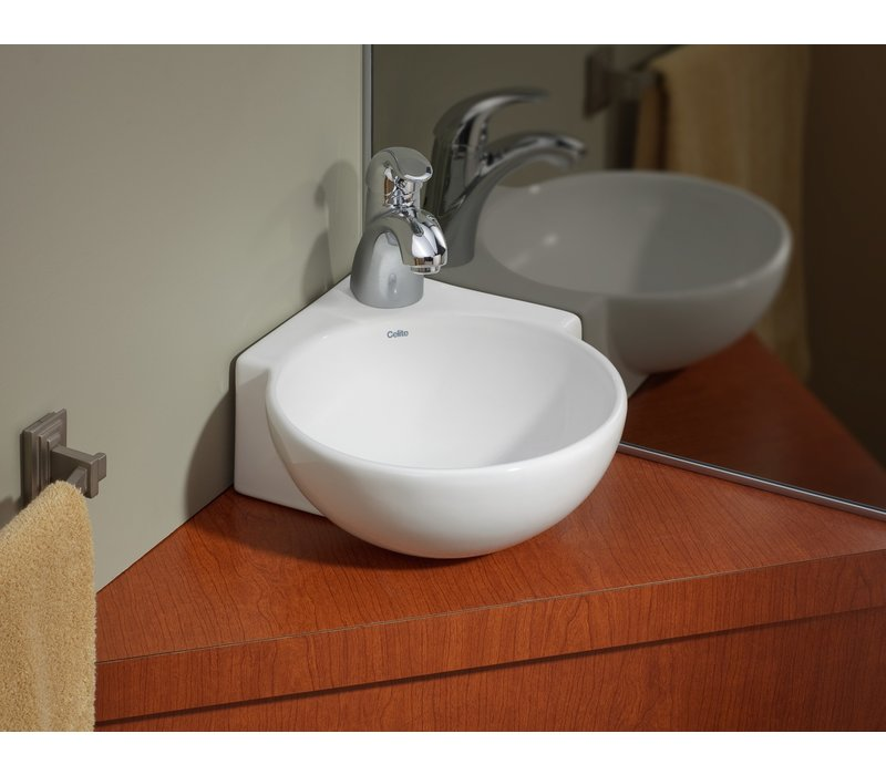 Cheviot - Bora - Wall-mount Corner Sink