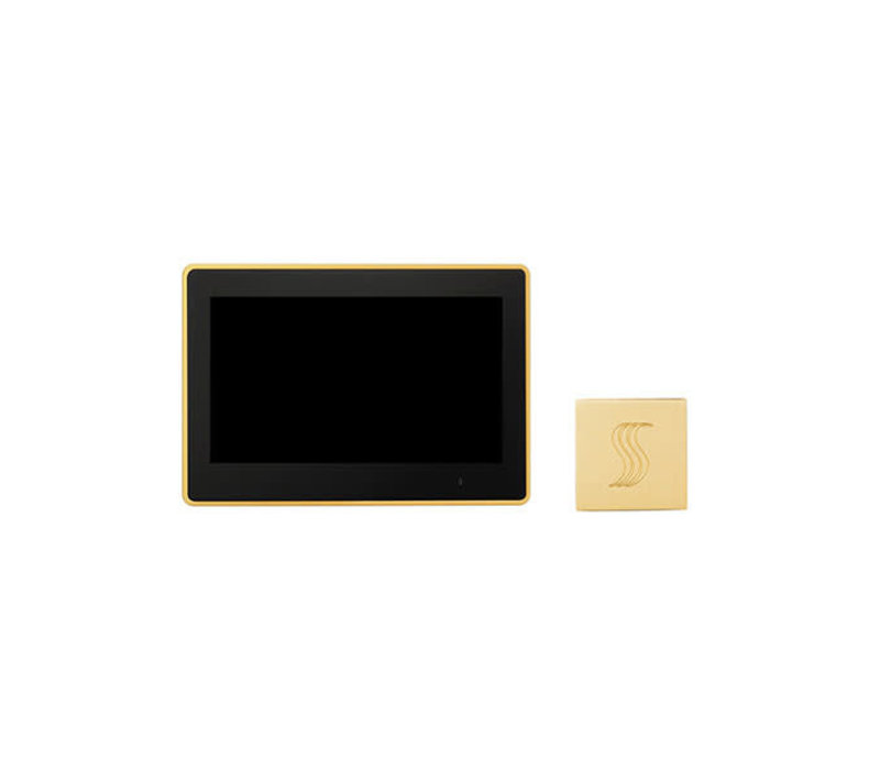"""Thermasol - ThermaTouch 10"""" LCD Control and Square Steamhead"""