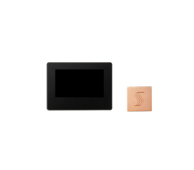 "Thermasol - ThermaTouch 7"" LCD Control and Square Steamhead"