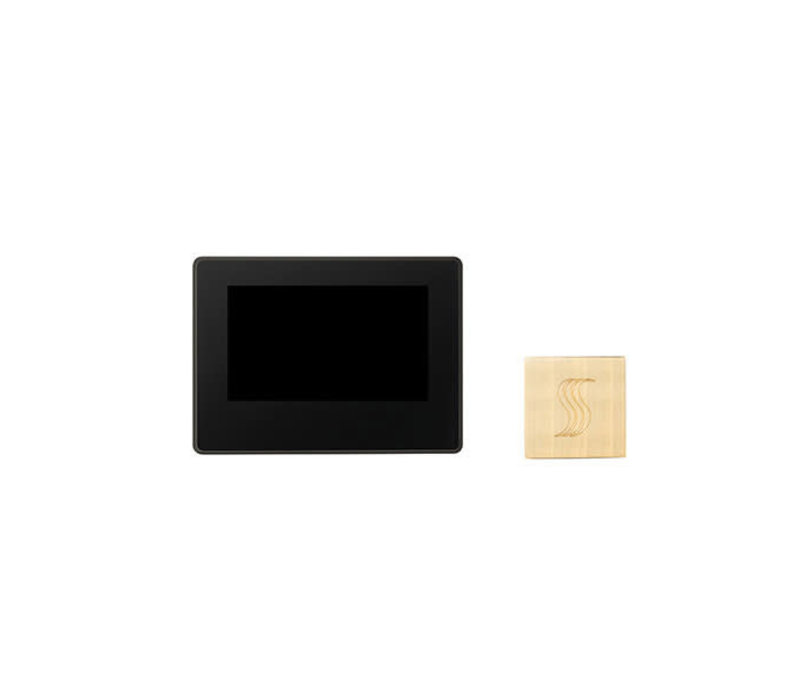 """Thermasol - ThermaTouch 7"""" LCD Control and Square Steamhead"""