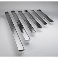 QuARTz Premium - Solid White Glass Drain