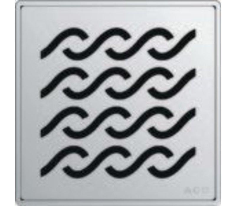 ACO - QuARTz Point - Hawaii Square Shower Drain