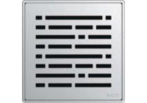 ACO ACO - QuARTz Point - Mix Square Shower Drain