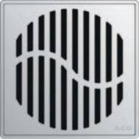 ACO - QuARTz Point - Wave Square Shower Drain