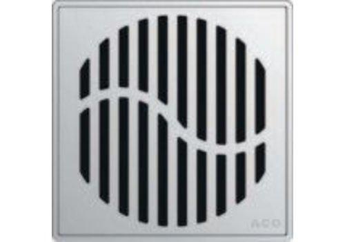 ACO ACO - QuARTz Point - Wave Square Shower Drain