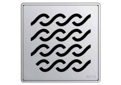 ACO ACO - Q Plus - Point Drain - Wavy