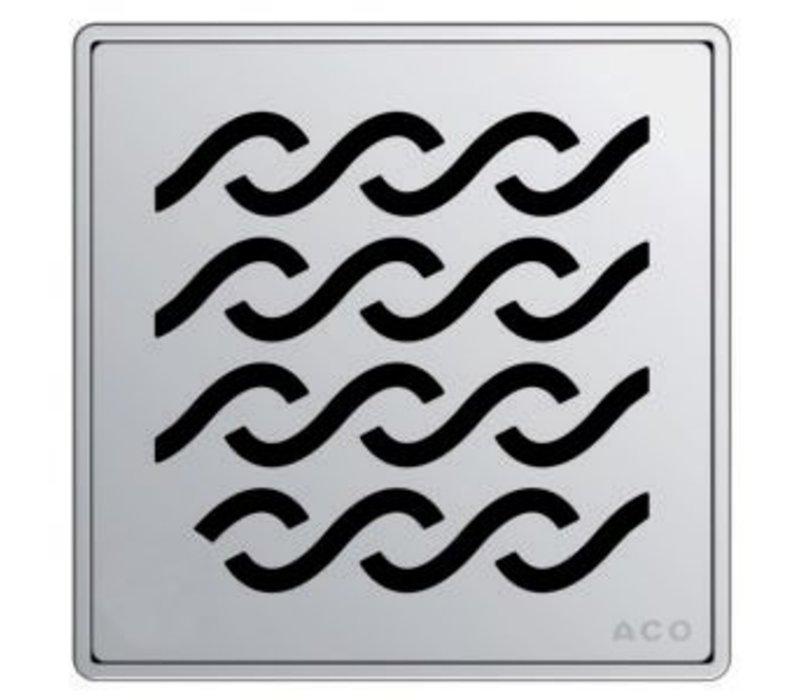ACO - Q Plus - Point Drain - Wavy