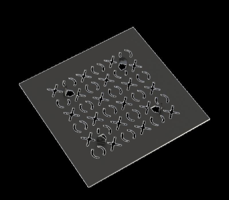 Rubinet - Square Drain - Paisley