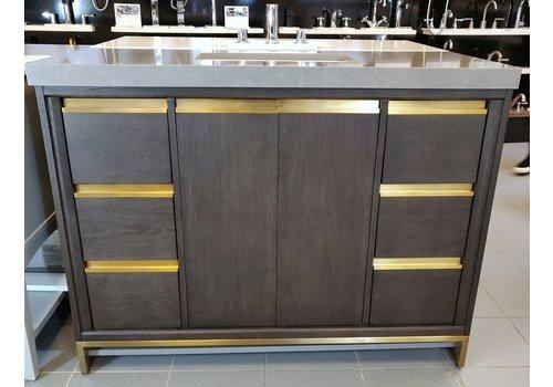 "Fairmont Design's Fairmont - Ambassador 48"" W/ 2"" thick Quartz top - Display"