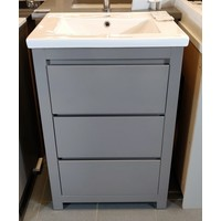 """Gena - Marquee - 18 - 24"""" Vanity only Gloss Spanish Gray"""