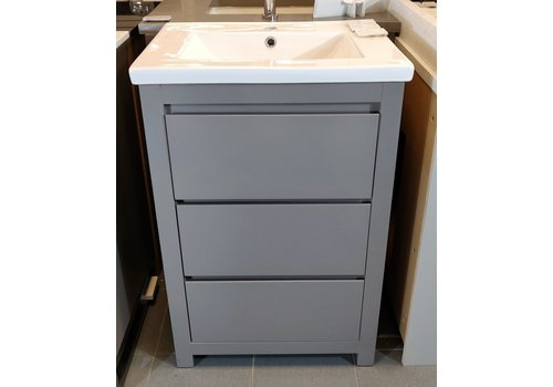 "Gena Gena - Marquee - 18 - 24"" Vanity only Gloss Spanish Gray"