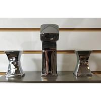 Kalia - UMANI™                         Widespread Lavatory Faucet with Pop-up Waste and UMANI™ Handles Chrome - BF1066-110