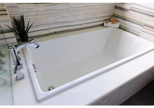 "Mirolin Fina - Slim Drop in Bath White - 60"" x 32"" Display"