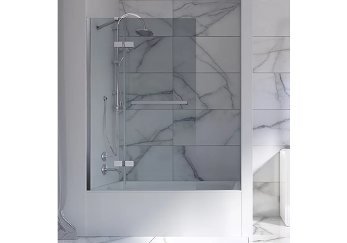 Mirolin Mirolin - Tub Shield - HSB40L - Clear - Chrome