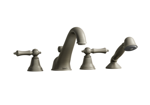 Riobel Riobel - Classic - 4-Piece Deckmount Tub Filler