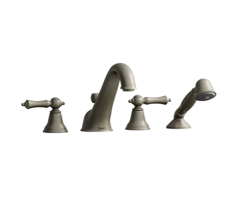 Riobel - Classic - 4-Piece Deckmount Tub Filler -