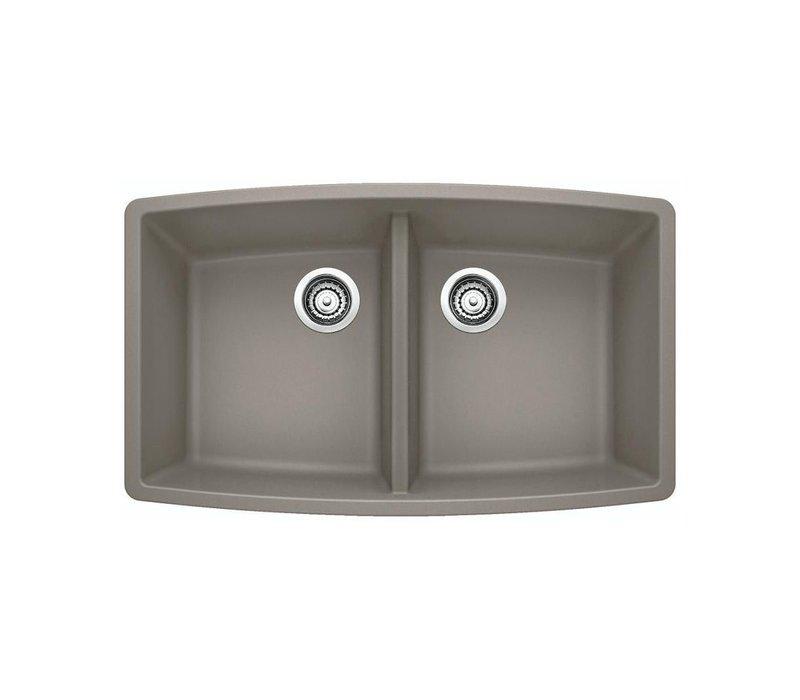"Blanco Performa U 2 silgranit sink  10 "" deep"