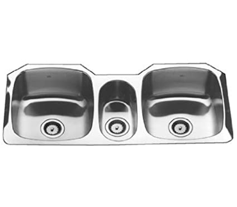 Kindred stainless steel sink 19x41