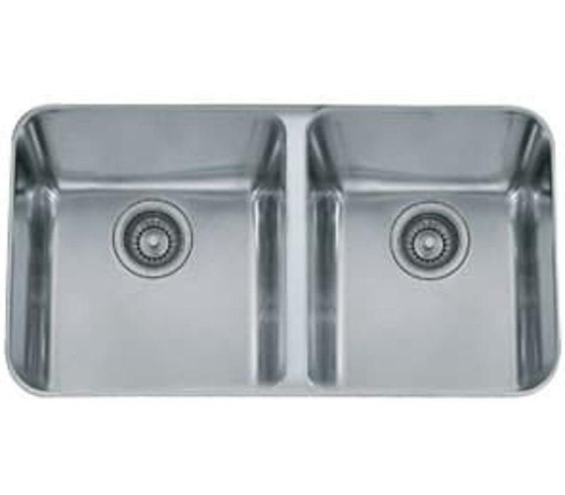Franke dual sink 19x32