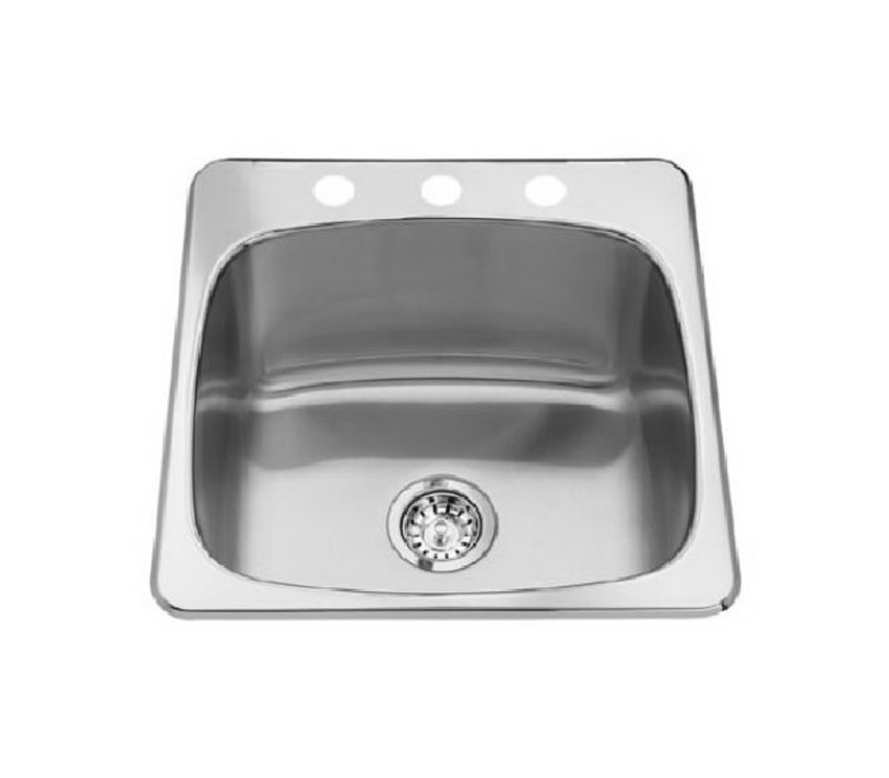 """Kindred  Stainless Steel Sink 20 1/2""""x 20"""""""