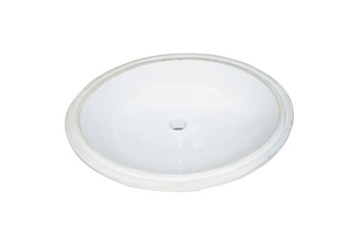Fairmont Design's Fairmont Sinks White Oval Ceramic Undermount Sink