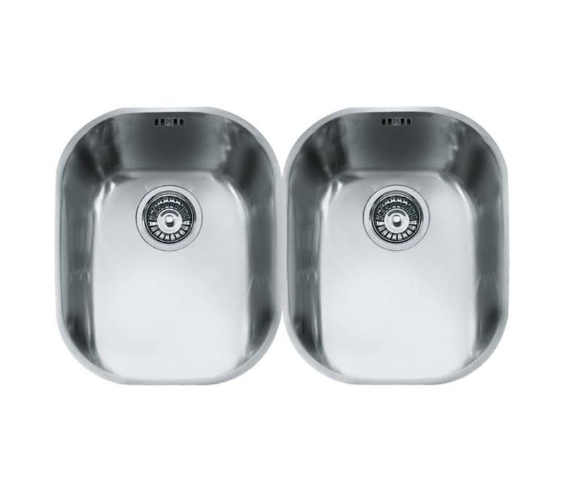 Franke COMPACT UNDERMOUNT DOUBLE BOWL SINK