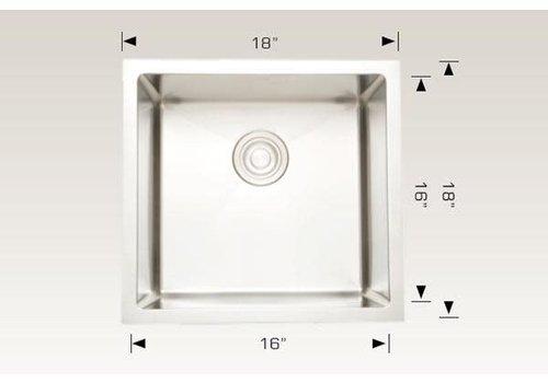 "Bosco Bosco - Diamond Series - Sink - 18""x18""x10"""