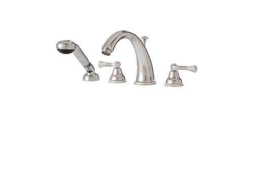 Aquabrass Aqua Brass ForSan Parma 4PC Deck mount Chrome