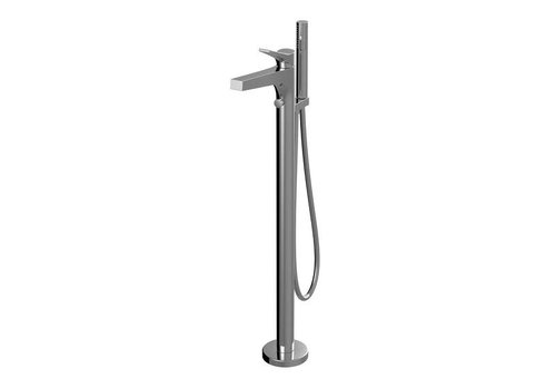 AquaBrass KITU 4PC deck mount faucet Chrome