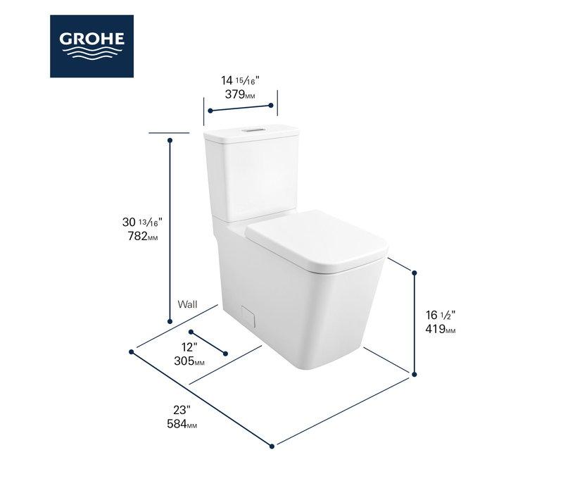 Grohe - Eurocube - 2-Piece Toilet