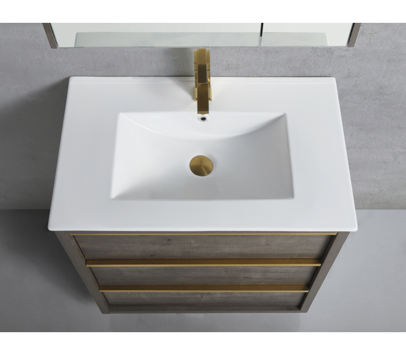 Bagno Italia - CAMBRIDGE 24 - Vanity + Porcelain Top