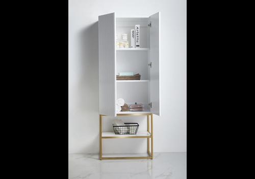 Bagno Italia Bagno Italia - GENEVA-LINEN - Side Linen Cabinet