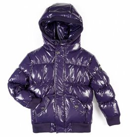 Appaman Puffy Coat Sparkle Purple