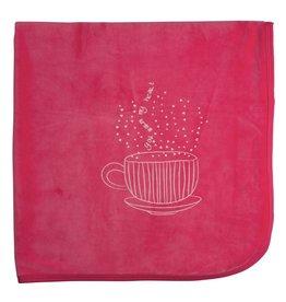 Mon Tresor Bebe Hug in a Mug Blanket Pink