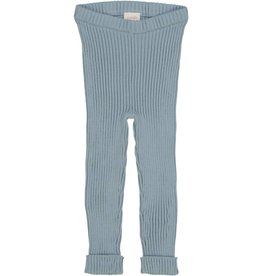 Lil leggs Ribbed Knit Leggings ss19 Aqua