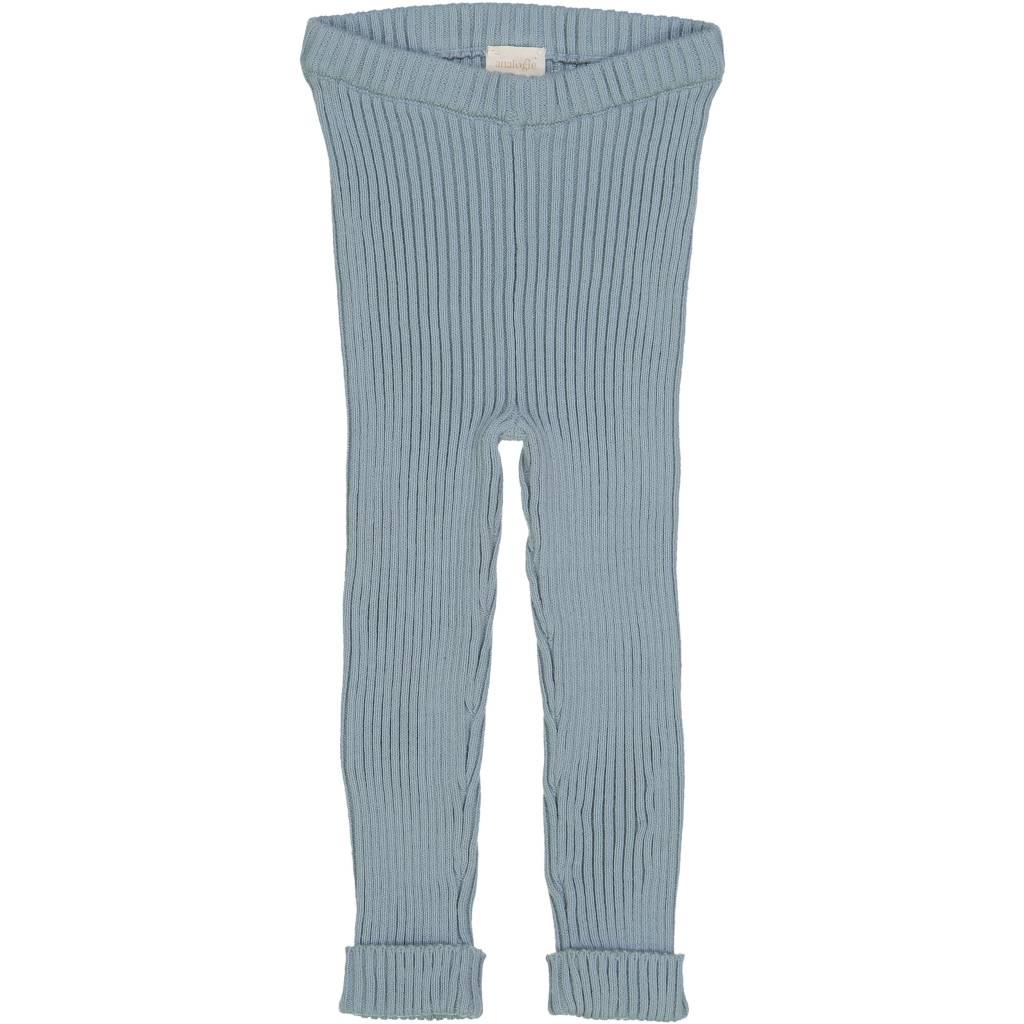 fa8038753e8 Ribbed Knit Leggings ss19 Aqua - Lollipop kids boutique