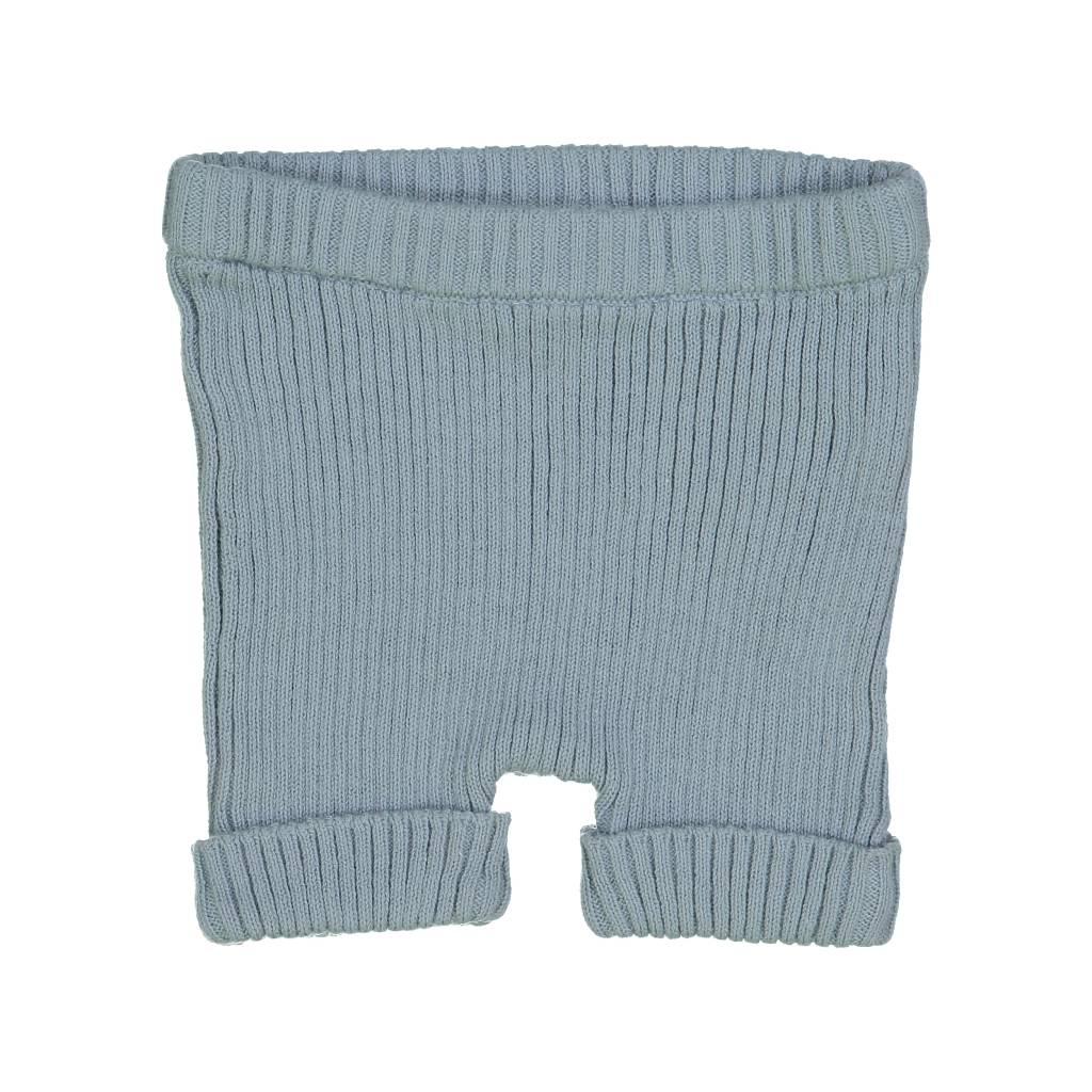 Lil leggs Ribbed Knit Shorts ss19 Aqua
