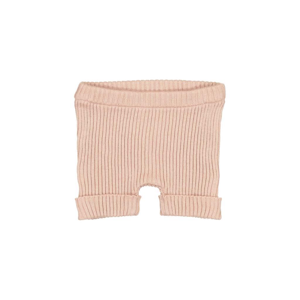 Lil leggs Ribbed Knit Shorts ss19 Blush