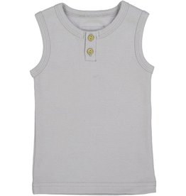 Lil leggs Ribbed Tank ss19 Light Grey