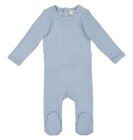 Lil leggs Ribbed Footie ss19 Blue