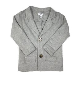 Crew Kids Knit Blazer Grey