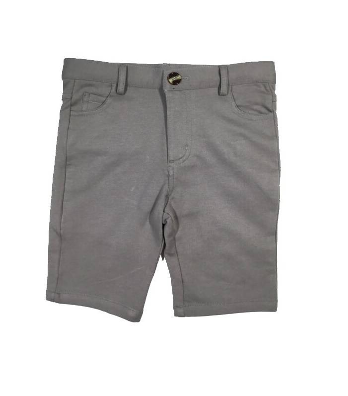 Crew Kids Knit Shorts Grey